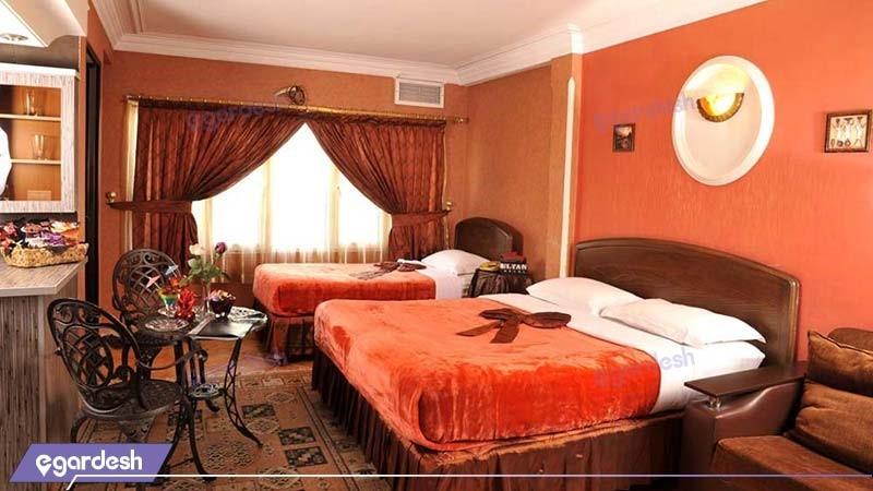اتاق سه تخته هتل الیان