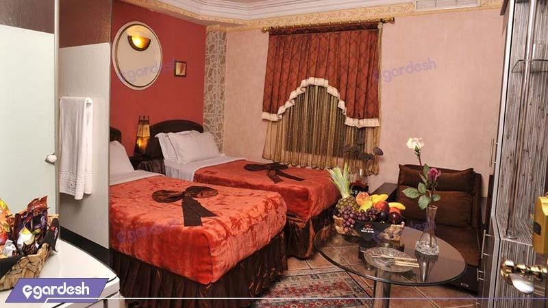 اتاق دو تخته هتل الیان