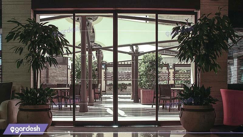 ورودی هتل اسکان الوند