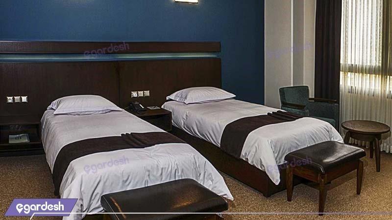اتاق دو نفره هتل هتل اسکان الوند