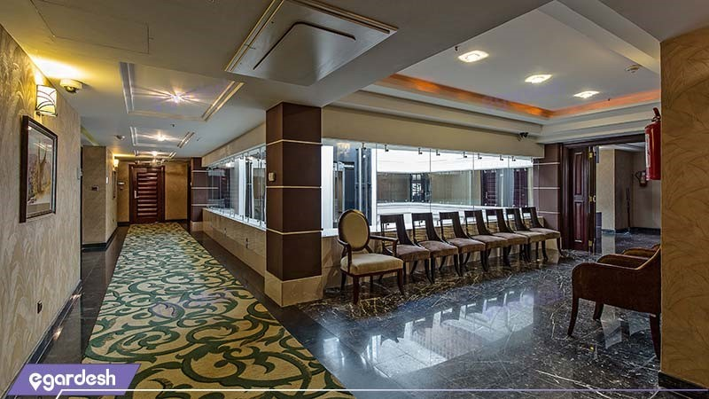 راهرو هتل اسپیناس خلیج فارس