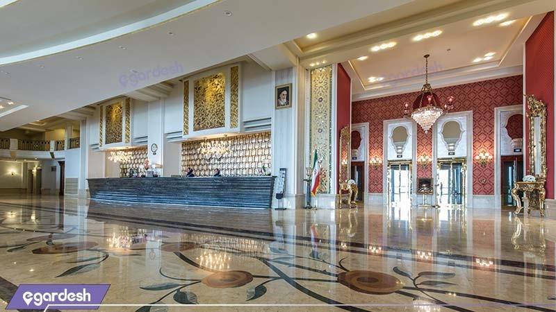 پذیرش هتل اسپیناس پالاس