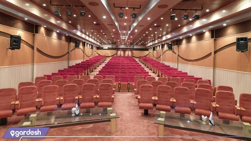 سالن آمفی تئاتر هتل بزرگ فردوسی