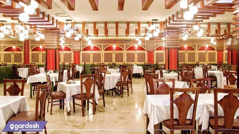 سالن صبحانه خوری هتل بزرگ فردوسی