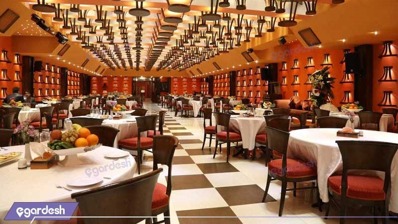 سالن پذیرایی هتل بزرگ فردوسی