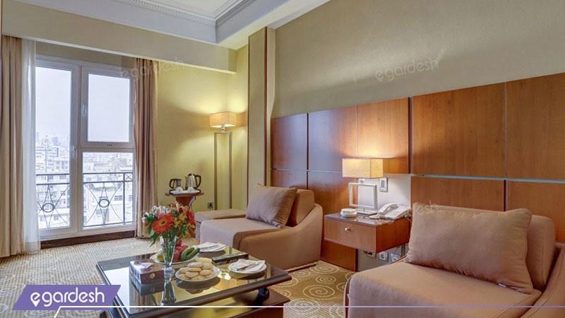 دو تخته دبل هتل بزرگ دو