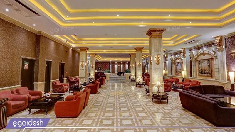 لابی هتل بزرگ دو