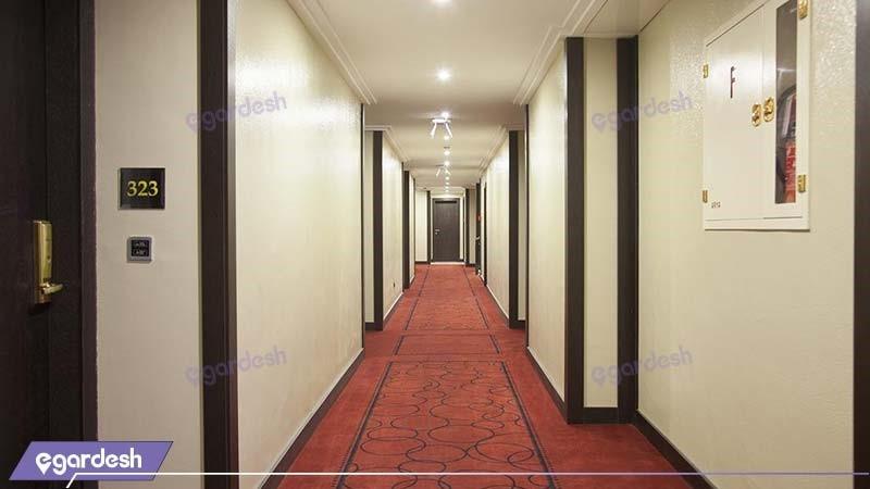 راهرو هتل بزرگ تهران
