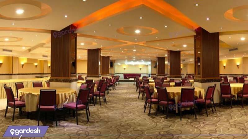 رستوران هتل بزرگ تهران