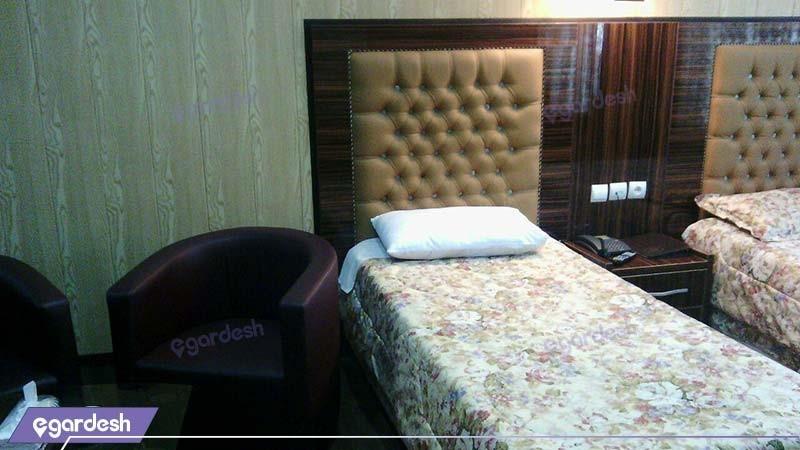 اتاق دو تخته هتل حافظ