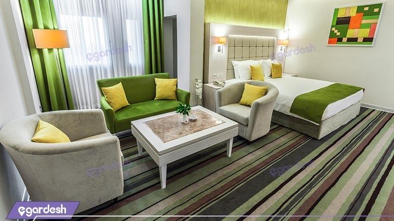 اتاق دو تخته دبل vip هتل هویزه