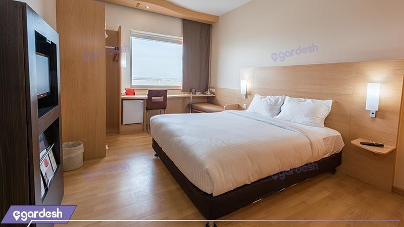 اتاق دو تخته دبل هتل ایبیس