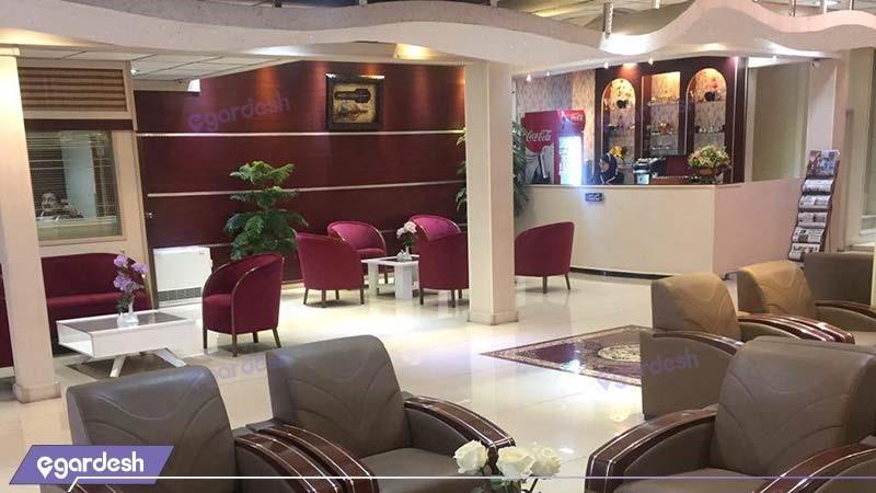 کافی شاپ هتل ایران تهران