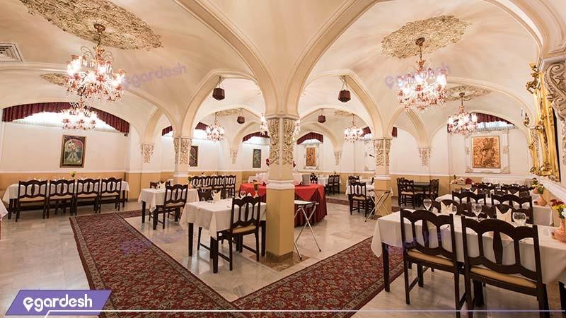 رستوران هتل ایرانشهر