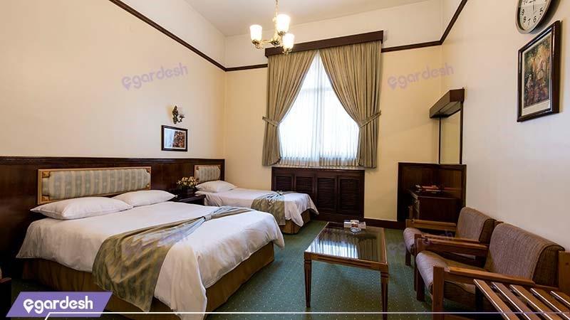 اتاق سه تخته هتل ایرانشهر
