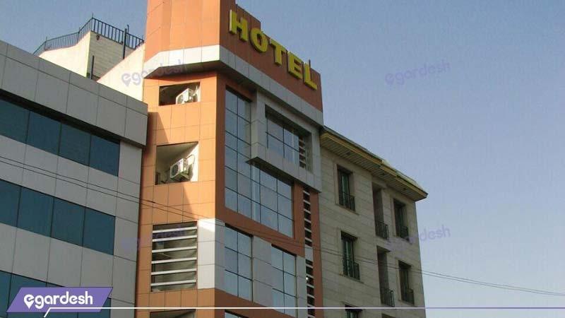 نمای ساختمان هتل آپارتمان کیمیا تهران