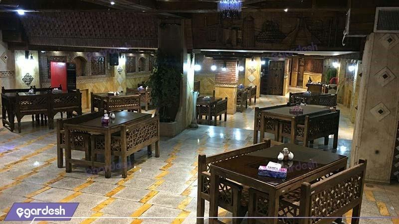 رستوران سنتی هتل آپارتمان کیمیا تهران