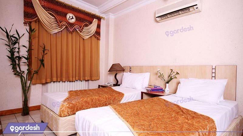 اتاق دو نفره هتل آپارتمان کیمیا تهران