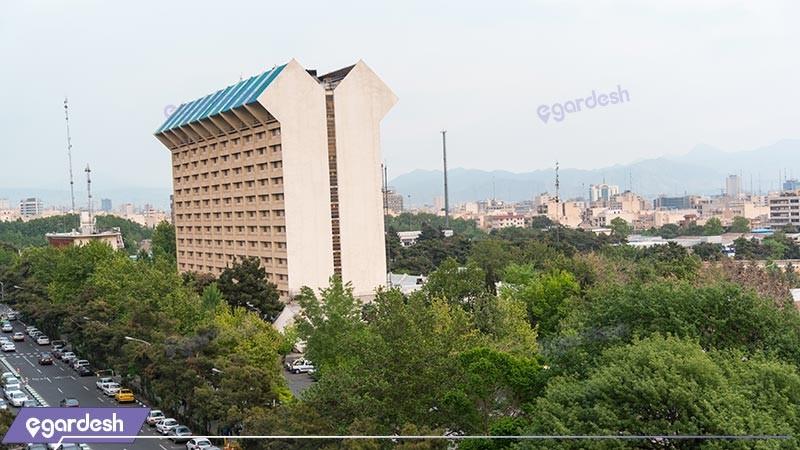 نمای ساختمان هتل لاله
