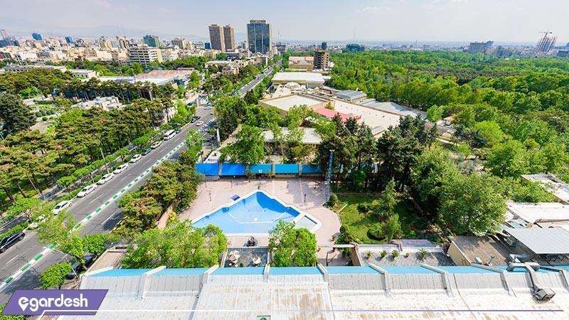 چشم انداز هتل لاله