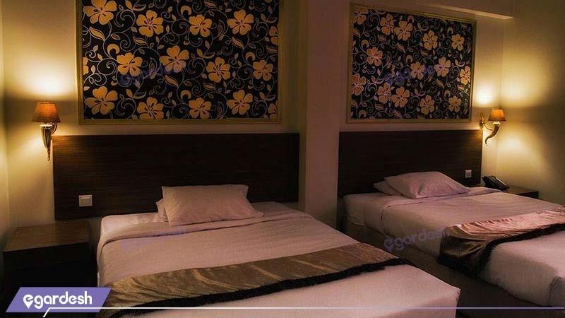 اتاق دو تخته هتل مارلیک