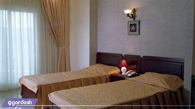 اتاق دو نفره هتل آپارتمان مدیا