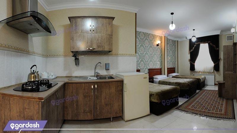 آپارتمان هتل مینا