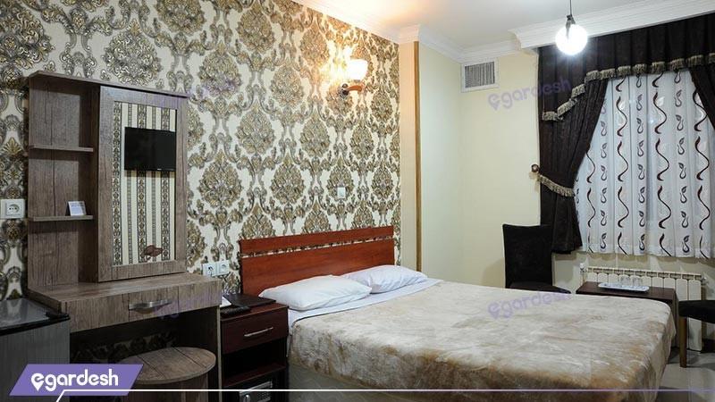 اتاق دو تخته دبل هتل مینا