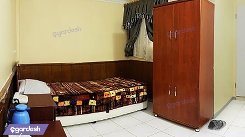 اتاق یک تخته هتل مینا