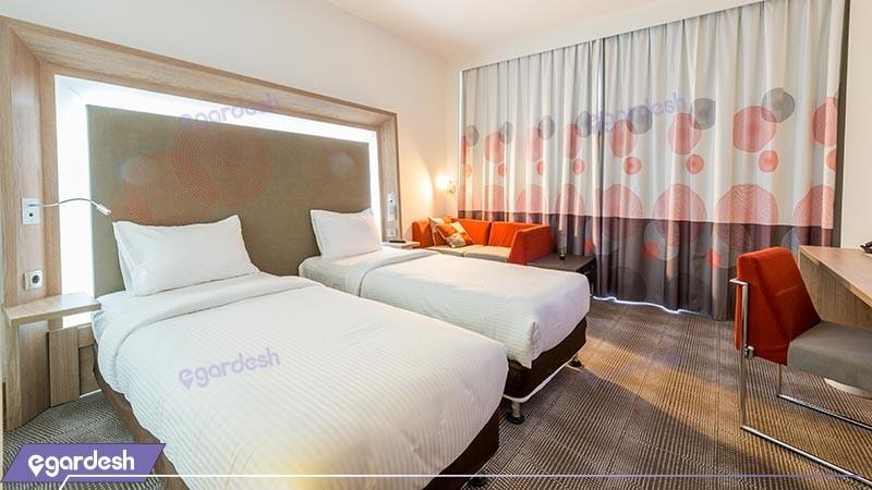 اتاق دو تخته توئین هتل نووتل