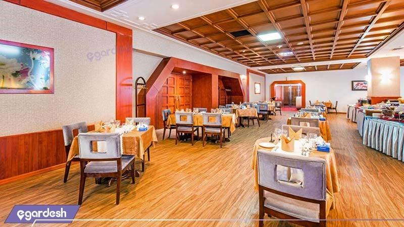 رستوران یاس هتل المپیک تهران