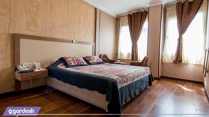 اتاق دبل هتل پامچال