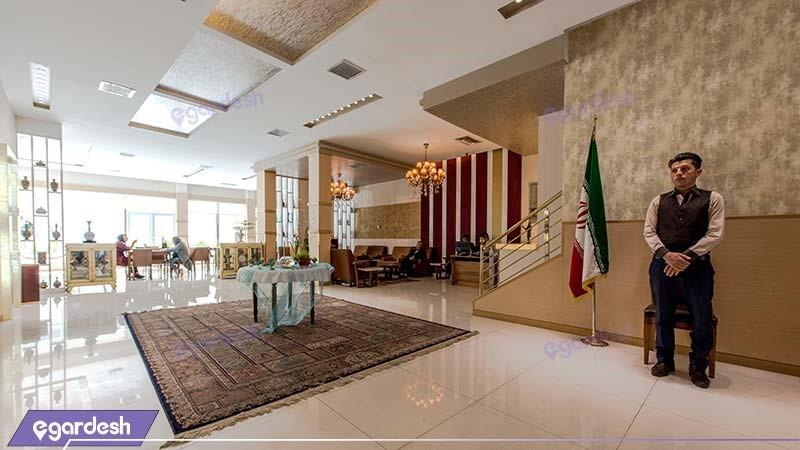 لابی هتل پامچال