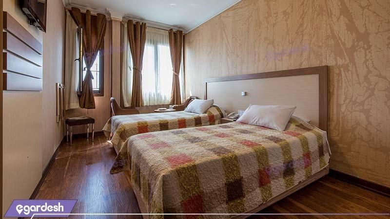 اتاق دو تخته هتل پامچال