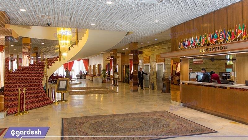 پذیرش هتل پارسیان انقلاب