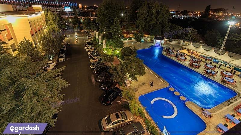 منظره هتل پارسیان اوین