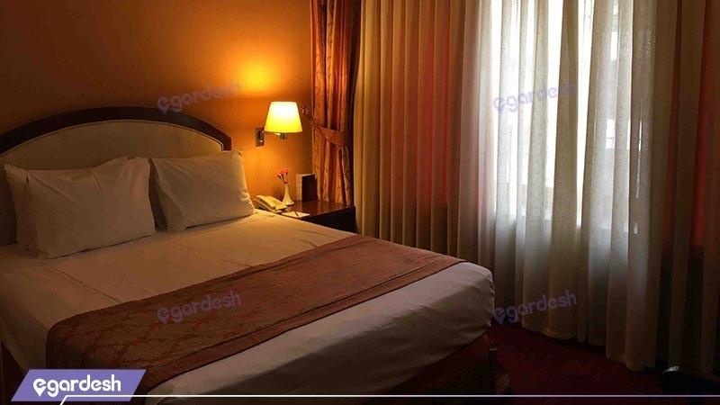 اتاق دو تخته توئین هتل پارسیان کوثر