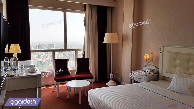 اتاق دبل هتل پرشین پلازا