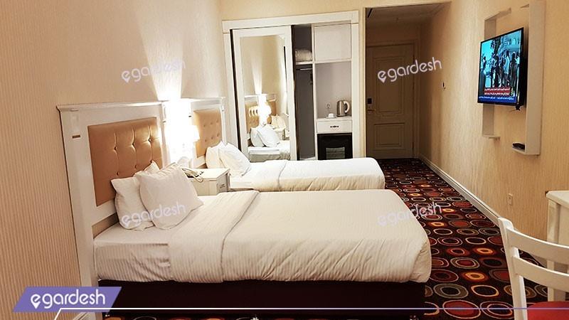 اتاق دو تخته توئین هتل پرشین پلازا