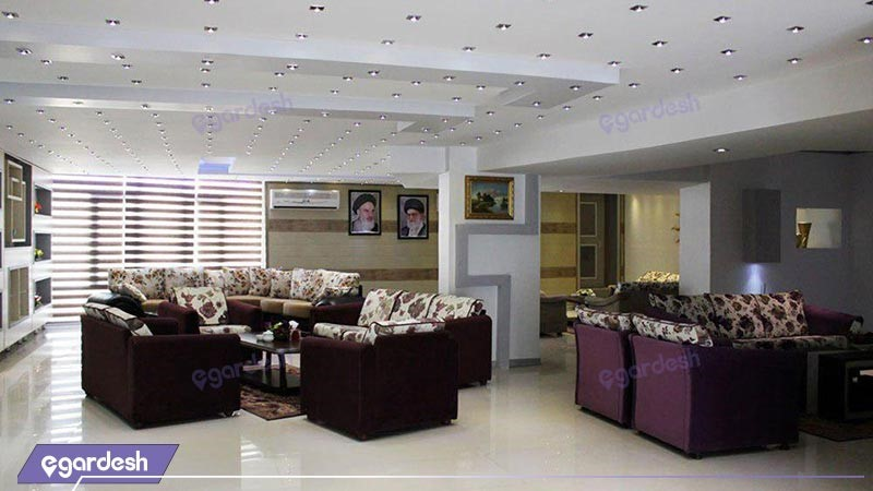 لابی هتل پانسیون رز