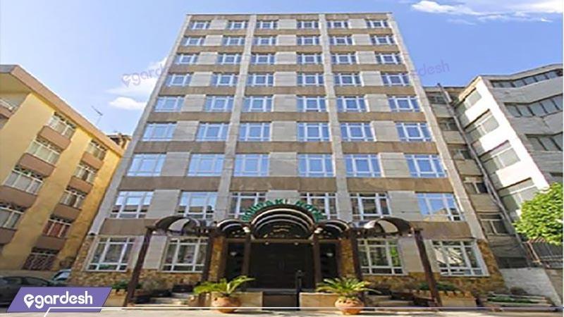 نمای ساختمان هتل رودکی