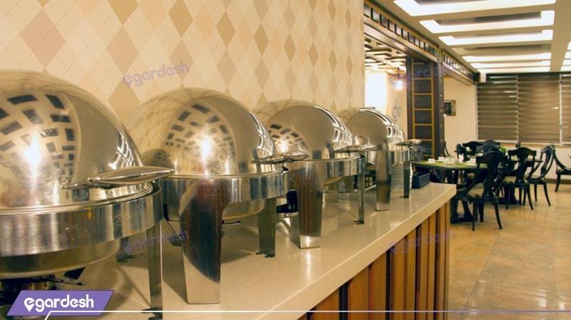 رستوران هتل رودکی
