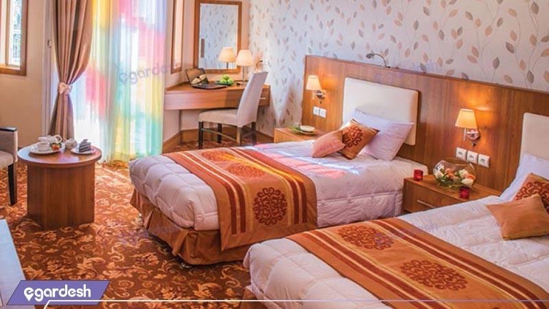 اتاق دو تخته توئین لوکس هتل شهر