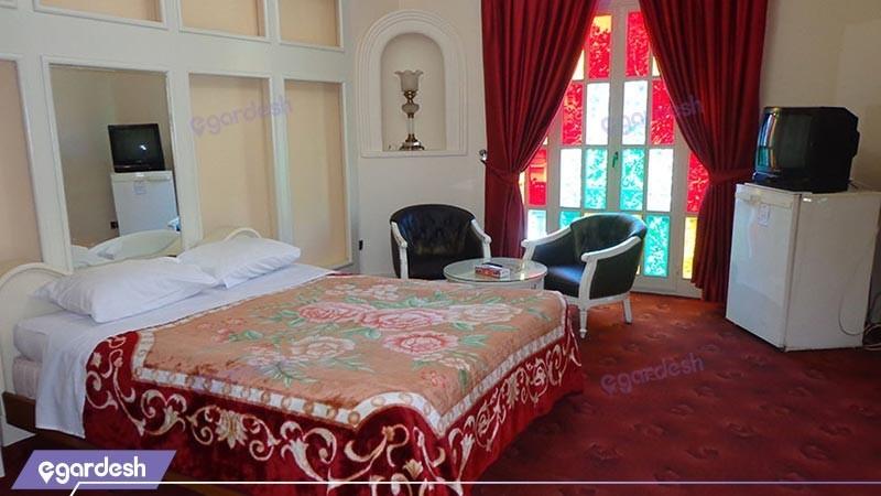 اتاق دو تخته دبل  هتل شهر