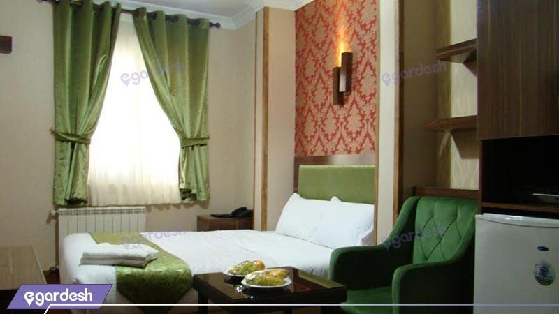 اتاق دو تخته دبل  هتل شهریار