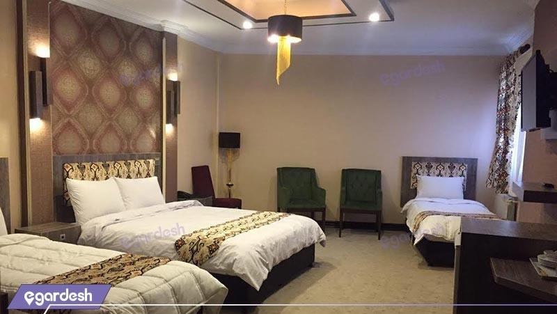 اتاق پنج تخته هتل شهریار