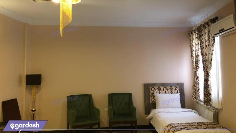 اتاق یک تخته هتل شهریار