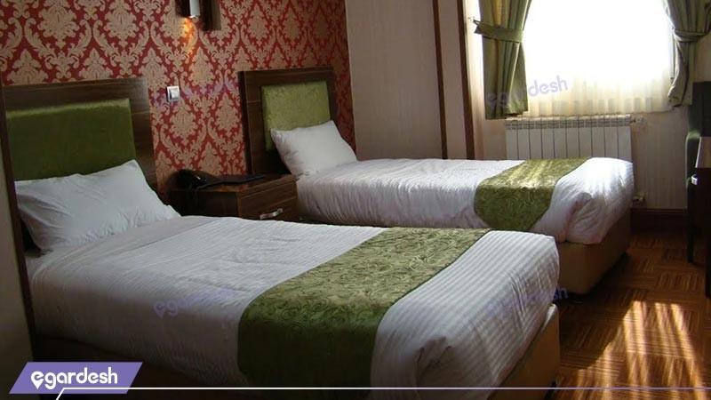 اتاق دو تخته توئین هتل شهریار