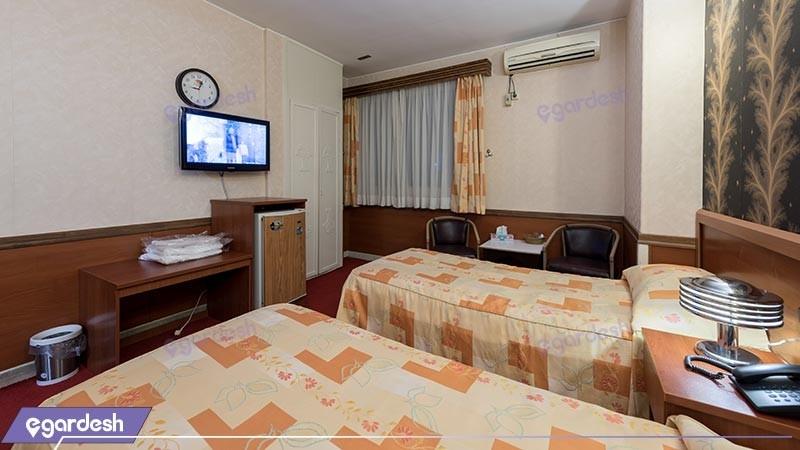 اتاق دو تخته توئین هتل شیراز