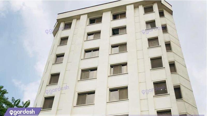 نمای ساختمان هتل آپارتمان جاده ابریشم